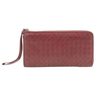 Bottega Veneta Burgundy Leather Purses, wallets & cases