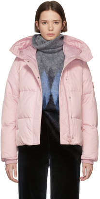 Kenzo Pink Down Quilted Jacket