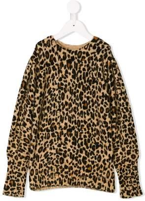 Les Coyotes De Paris leopard pattern jumper