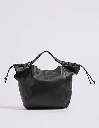 M&S Collection Faux Leather Shoulder Bag