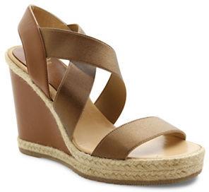 Andre Assous Cassandra Espadrille Slingback Wedge Sandals $229 thestylecure.com