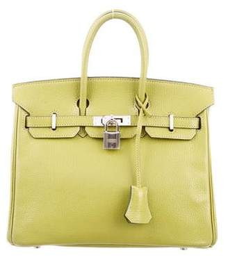 Pre-Owned at TheRealReal Hermes Chevre Birkin 25 aab708398d16a