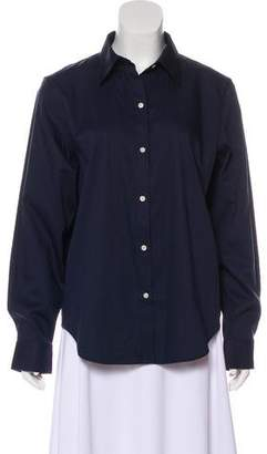 Lauren Ralph Lauren Long Sleeve Button-Up Blouse