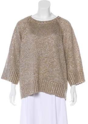 Michael Kors Metallic Knit Sweater w/ Tags