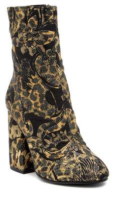 Ash Flora Embossed Velvet Mid Boot