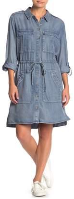 Velvet Heart Lupe Denim Shirt Dress