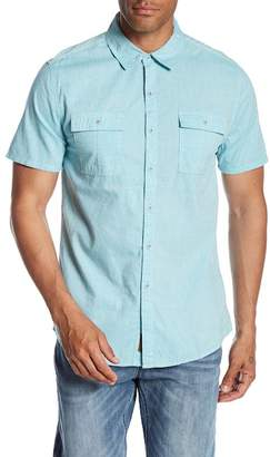 Seven7 Chest Flap Pocket Regular Fit Shirt