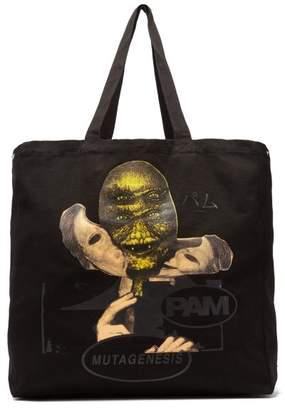 P.a.m. - Mutagenesis Canvas Tote Bag - Mens - Black