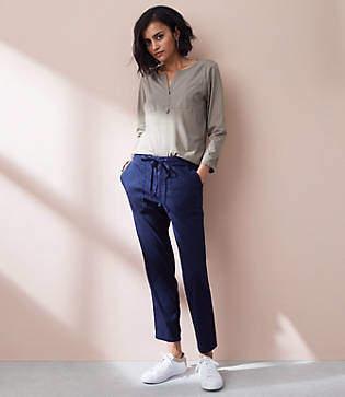 Lou & Grey Garment Dye Softstretch Linen Pants