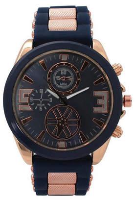OLIVIA PRATT Olivia Pratt Womens Strap Watch-D60050navy