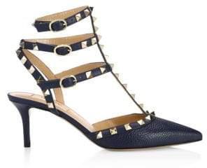 Valentino Rockstud 65 T-Strap Heels