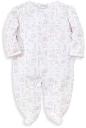 Kissy Kissy Baby Girl's Jungle Out There Printed Cotton Footie