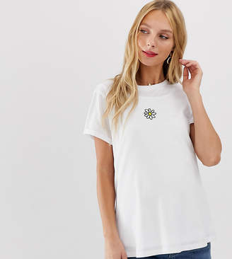 Asos Nursing DESIGN Maternity nursing t-shirt with daisy motif