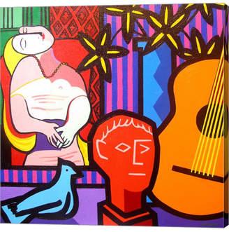 Still Life With Picassos Dream by John Nolan Canvas Art
