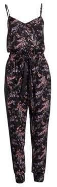 7e83fd50dbb Cinq à Sept Women s Amia Sleeveless Floral Jumpsuit - Black Multi - Size XXS
