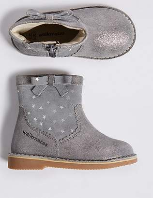 """Marks and Spencer Kids' Walkmatesâ""""¢ Leather Ankle Boots (4 Small - 11 Small)"""