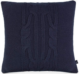 "Nautica Closeout! Tideway Stripe 16"" Square Decorative Pillow Bedding"