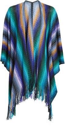 Missoni Usa Multicolor Mantle Cape