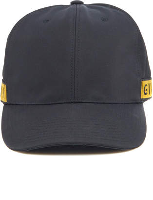 Givenchy Logo-Trimmed Canvas Baseball Cap