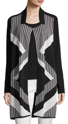 NIC+ZOE Frontline Reversible Knit Jacket $188 thestylecure.com