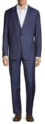 Hickey Freeman Milburn IIM Series Wool Suit
