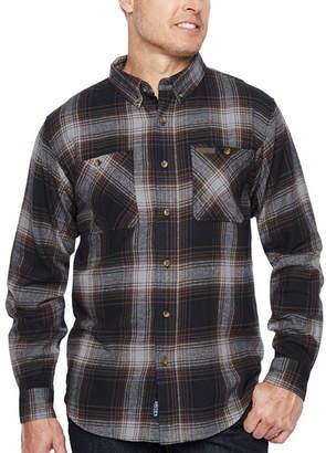 Smith Workwear Long Sleeve Flannel Shirt