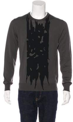Alexander McQueen 2015 Wool Contrast Cut-Out Panel Sweater w/ Tags