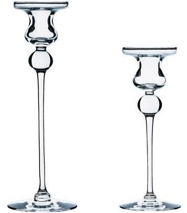 Holmegaard -cassiopeia candlestick by torben jorgensen