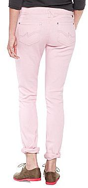 JCPenney Almost Famous Glitter Skinny Jeans