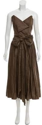 Pierre Balmain Vintage Houndstooth Dress