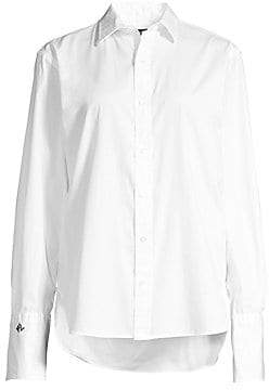 Polo Ralph Lauren Women's Long-Sleeve Elijah Button-Down Shirt