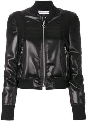 Paco Rabanne coated jacket