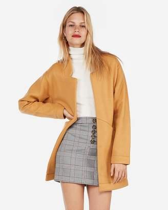 Express Oversized Tailored Knit Blazer