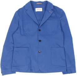 M Blue Far Afield - Blue Habana Blazer - M - Blue