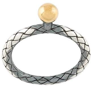 Bottega Veneta Intrecciato ring