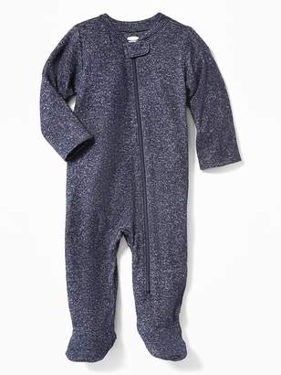 Old Navy Plush-Knit Footed One-Piece for Baby