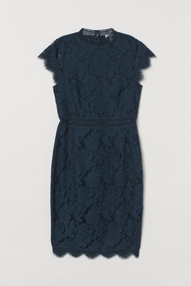 H&M Lace Dress - Turquoise