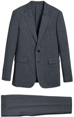 Burberry Soho Fit Three-piece Linen Wool Suit