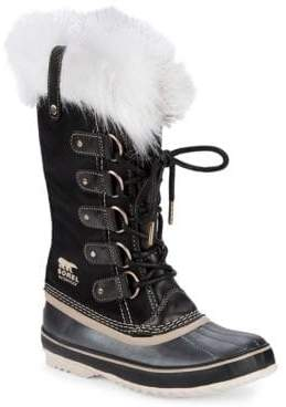 Sorel Joan of Arctic Faux-Fur Trimmed Waterproof Boots