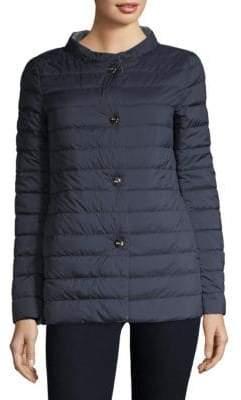 Herno A-Line Hi-Lo Reversible Coat