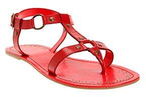Leather D-Ring Sandal