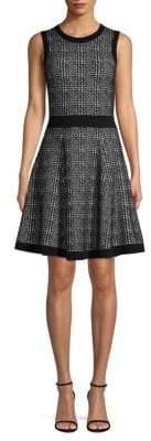 Kate Spade Out West Mod Plaid Sweater Dress