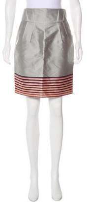 Reiss Silk-Blend Pencil Skirt