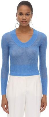 Jacquemus Alpaca Blend Knit Sweater