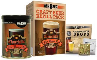 Mr. Beer Churchills Nut Brown Ale Craft Beer Making Refill Kit
