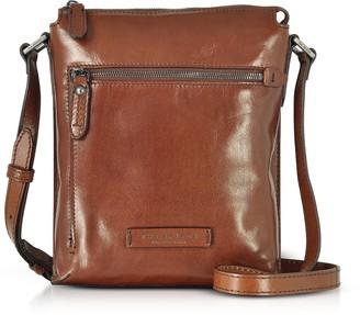 The Bridge Kallio Brown Leather Men's Crossbody Bag