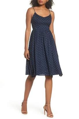 BB Dakota Sloane Polka Dot Dress
