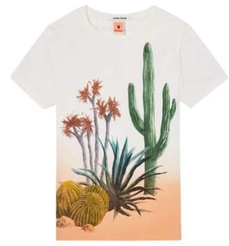 Scotch Shrunk Cacti Screenprint T-Shirt