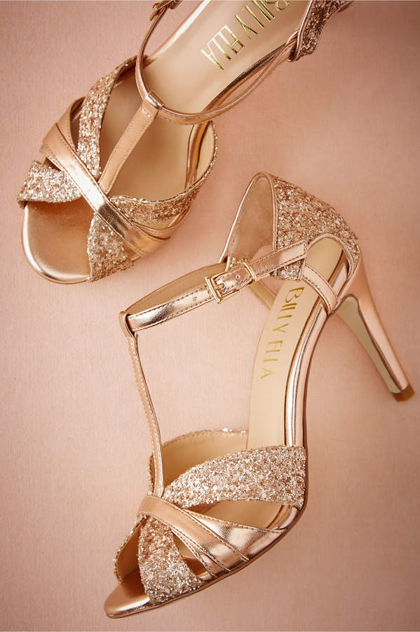 Lucia T-Strap Heels