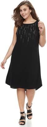 Apt. 9 Plus Size High-Low Shift Dress